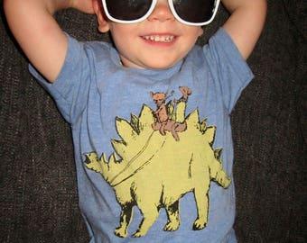 stegosaurus shirt, stegosaurus t-shirt, awesome stegosaurus shirt, cute dinosaur tshirt, dino design, dogs & dinosaur design, free shipping
