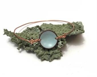 Sale listing // Lucky Penny bangle bracelet