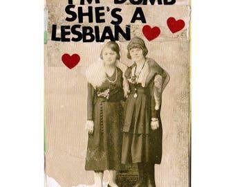 Lesbian COLLAGE ART