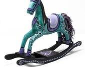Whimsical Horse Figurine ...