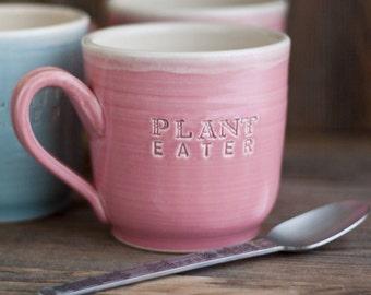 Plant Eater - Vegan Dish - Mug - MADE TO ORDER