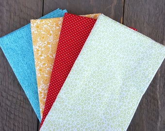 Dinner Napkins - Mismatched Bright