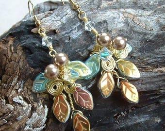 Fairytale Wedding Earrings Titanias Dream