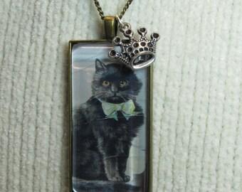 Black Cat Queen Necklace