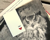 Owl Magnetic Bookmark