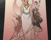 The Alderaan Rose Postcard (Item 09-391)