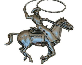 Cowboy Medallion, XL