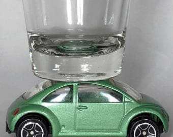 The ORIGINAL Hot Shot, Shot Glass, VW Beetle, Matchbox