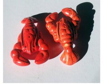Vintage Lobster Salt and Pepper Shakers