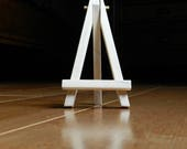 Mini Easel, Low Center of Gravity, Natural Wooden Easel, Display Stand, Wedding Prop, Business Card Holder, Tiny Canvas Easel, Place Cards