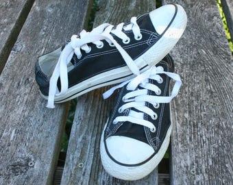 Converse All Star low top black size M 6  W 8  UK 6  EUR  9  CM 24.5