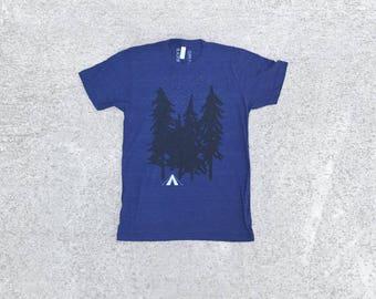 Hiking Tshirt, Adventure Shirt, Clothing Gift, Travel Gift, BlackbirdSupply Shirt, Unisex T-Shirt, Screen Print T Shirt