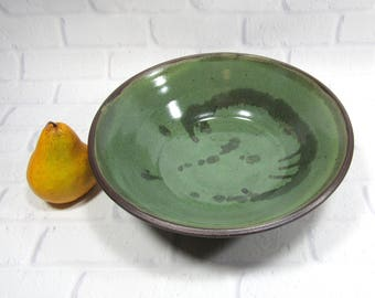 Pasta Bowl - Pottery Salad Bowl - Large serving bowl - fruit bowl - centerpiece