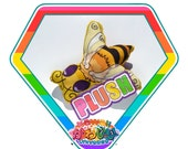 Kawaii Cute Bee Insect Plush