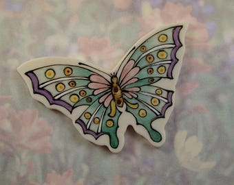 Large Butterfly Button