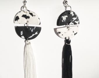 Cruella De Ville earrings