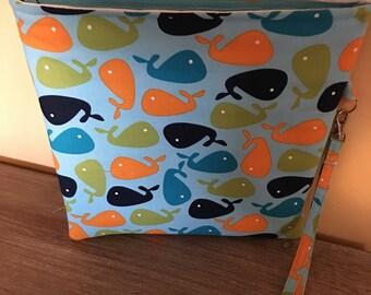Whale Wet Bag