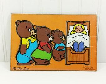 The Three Bears Book Etsy