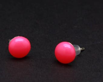 Made To Order Candy Dot Earrings In Assorted Colors