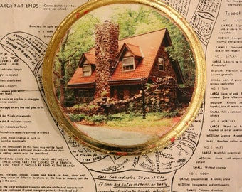 Witch, Cottage, Fairy, Stone, Round, Unique, Affordable, Art, Photography, Tiny, House