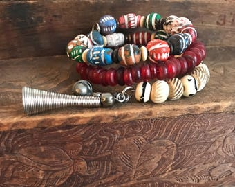 Of Earth Colorful Wrap Bracelet