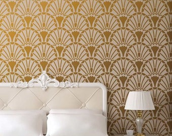 Decadence Allover Stencil   DIY Home Improvement   Better Than Wallpaper