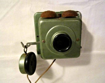 Antique Home Intercom, Antique Home Phone, 1920s Antique Intercom