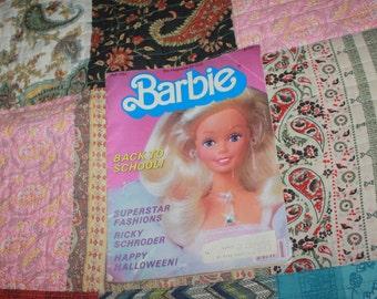vintage Barbie magazine Fall 1984