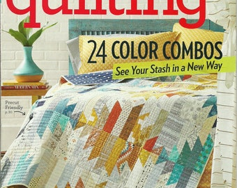 American Patchwork Quilting magazine June 2017 Volume 25 Number 3 Issue 146 Like new