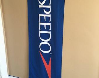 Speedo Cloth Banner or Sign