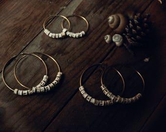 Ocean Spirits - earrings, stainless steel posts
