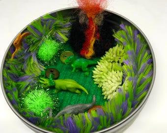 Pocket Toy - Mini Dinosaur World