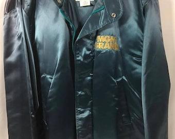 MGM Grand Las Vegas Satin Bomber Jacket Mens L