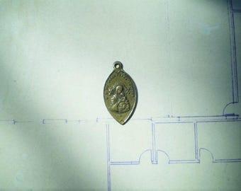 Notre Dame du Perpetuel Secours - Our Lady of Perpetual Help - Antique Medal or Pendant - Eglise St. Alphonse de Liguori, Rome - Catholic