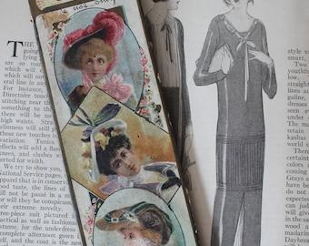 Antique Victorian Morris & Yeomans' 8 Inch Hat Pins in Original Package Antique Victorian Hat Pins Antique Morris and Yeomans's Hat Pins