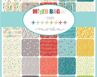 Mixed Bag 2017 Fat Quarter Bundle by Studio M for Moda