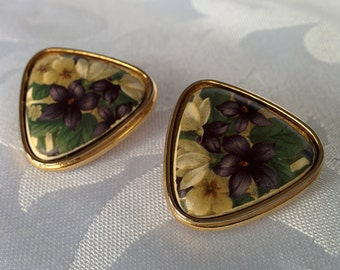 Berebi Earrings, Edgar Berebi Jewelry, Edgar Berebi Earrings, Floral Earrings, Flower Earrings