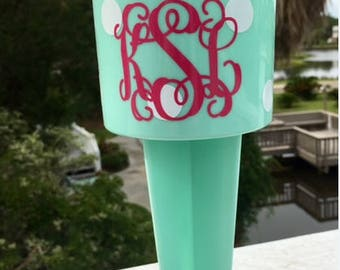 Spiker Personalized -Beach Spiker -  Drink Holder for Beach - Bridesmaid Gifts - Birthday Gift - Party Favor