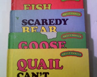 Sweet Pickles Books, Set of 5 LARGER Sized