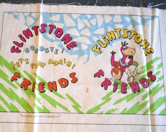 Flintstone Friends fabric book - Sewing Fabric Panel