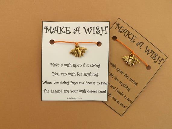 Bee G/T Wish Bracelet