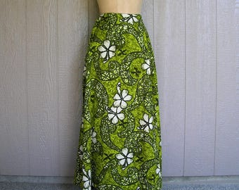 Vintage 70s TIKI TOGS Pacific Styled Skirt