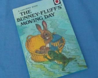 The Bunney-Fluffs' Moving Day - Vintage Ladybird Book Series 401 - Matt Covers