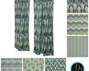 Custom Curtains- Pair of Drapery Panels- Frost Birch Blue Curtains- Blue and Green Window Treatments- Textured Curtains- Window Curtains