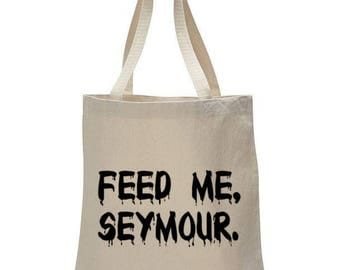 Little Shop of Horrors - Audrey II - Graphic Font Tote