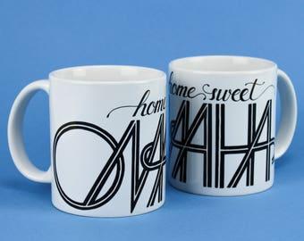 Home Sweet Omaha Mug