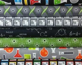 Science SUPER Bundle from Robert Kaufman - 7 Fabrics