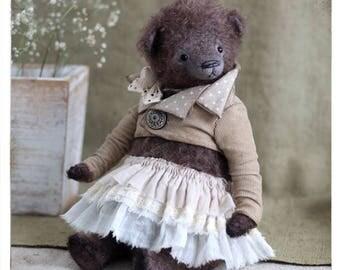 Bear Teddy Bear Amalia 10 inch OOAK