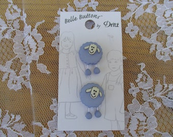 Belle Buttons Lamb Sheep by Dritz Adorable Kids Clothes, Crafting, Scrapbooking, Cardmaking, Sewing