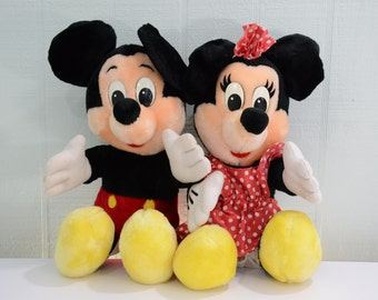 "Vintage 16"" Mickey and Minnie Mouse Disneyland Walt Disney World"